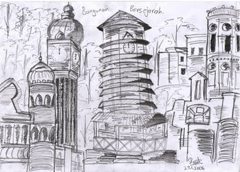 historical buildings:Malaysia by Gamingfreak