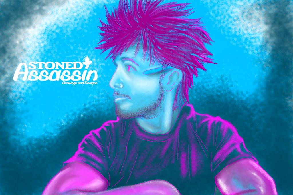 Self Portrait by STONEDAssassin69