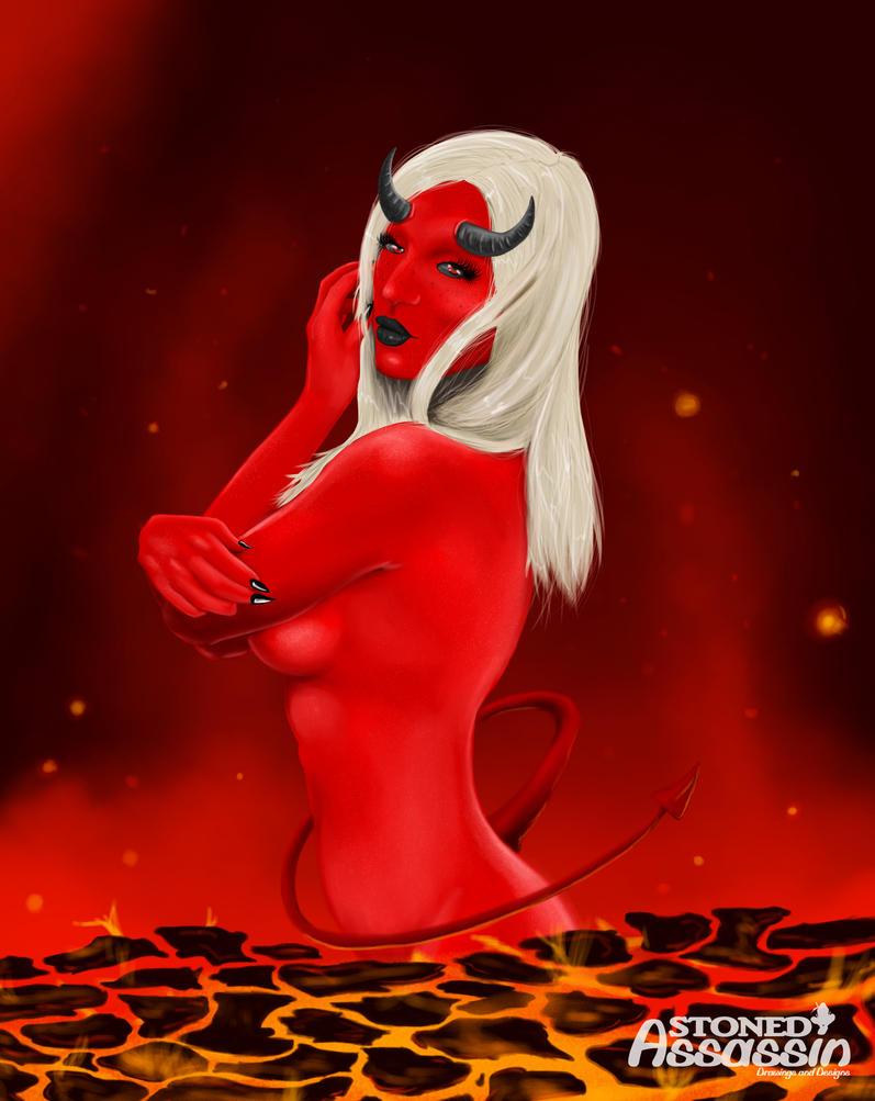 Devil Lady by STONEDAssassin69