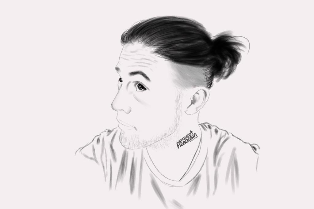 Self Portrait nr 2 by STONEDAssassin69