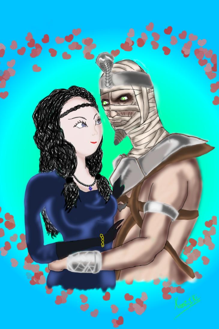 Ermac And Jeifara by kaori-Iki