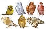 Bunches of Owls