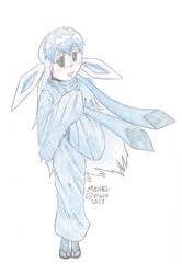 Glaceon personified
