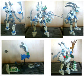 Bionicle Masterweaver Photoshoot