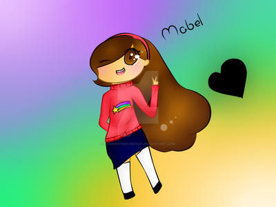 Mabel_Gravity Falls by fionninforever1401