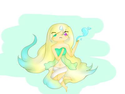 Princesa de Agua by fionninforever1401