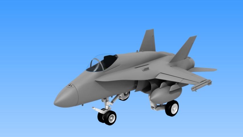 SD FA-18C WIP by innactpro