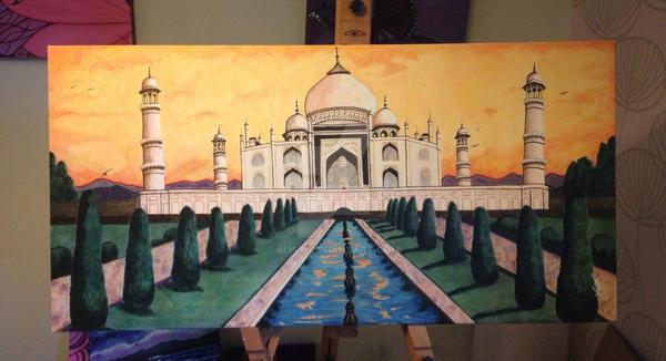 Taj Mahal , India by 4lisx