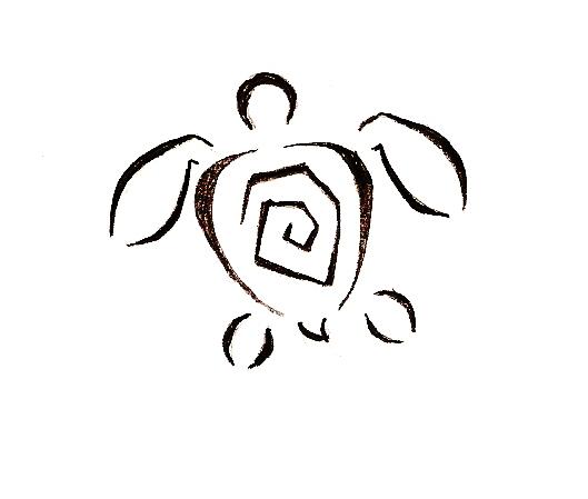 Turtle tattoo design by untalentedchik on deviantart for Small cartoon tattoo designs