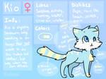 Kiokoa/Kio Reference Sheet