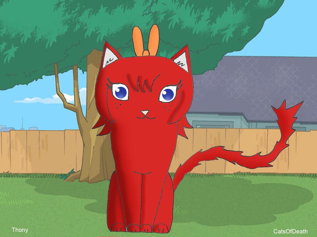 Catmarie (Gatita Marie) by Catsofdeath