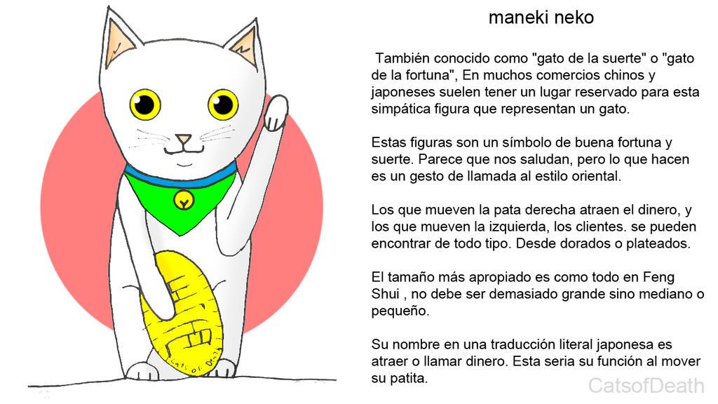 Maneki-neko by Catsofdeath