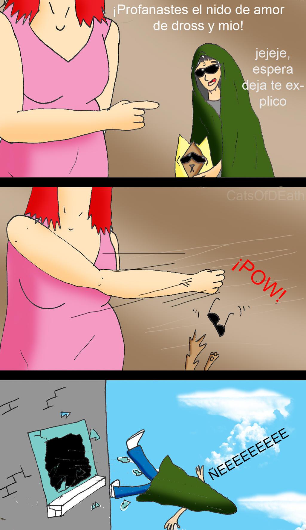 La Gorda contraataca by Catsofdeath