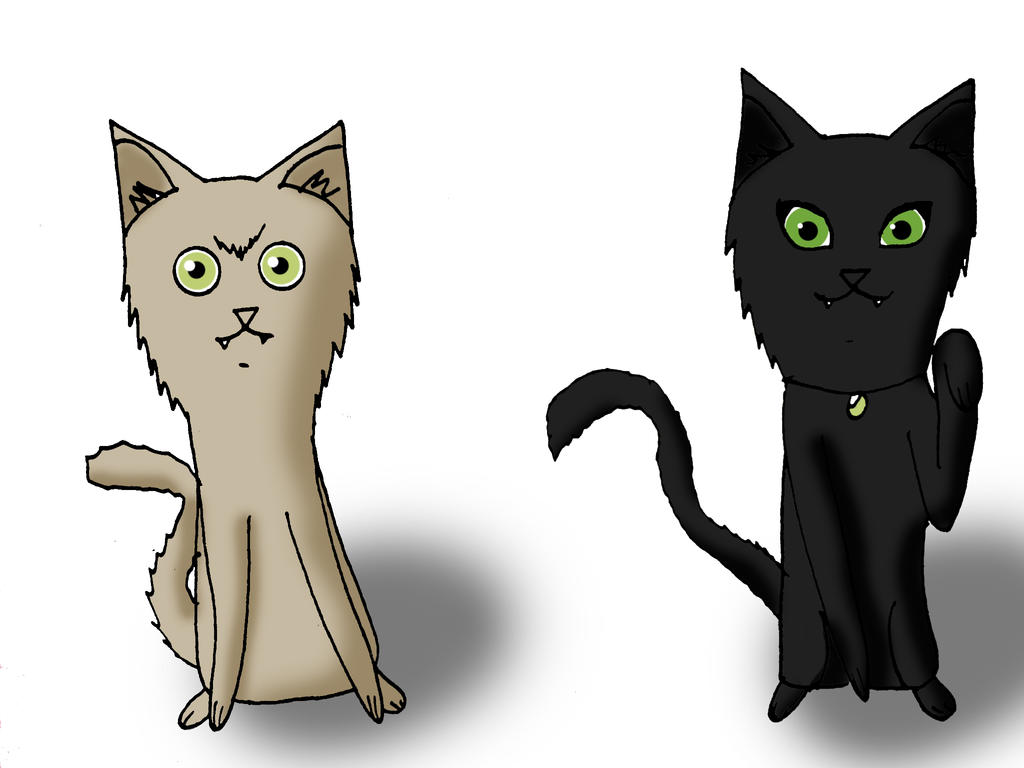 Kib y Zoe by Catsofdeath