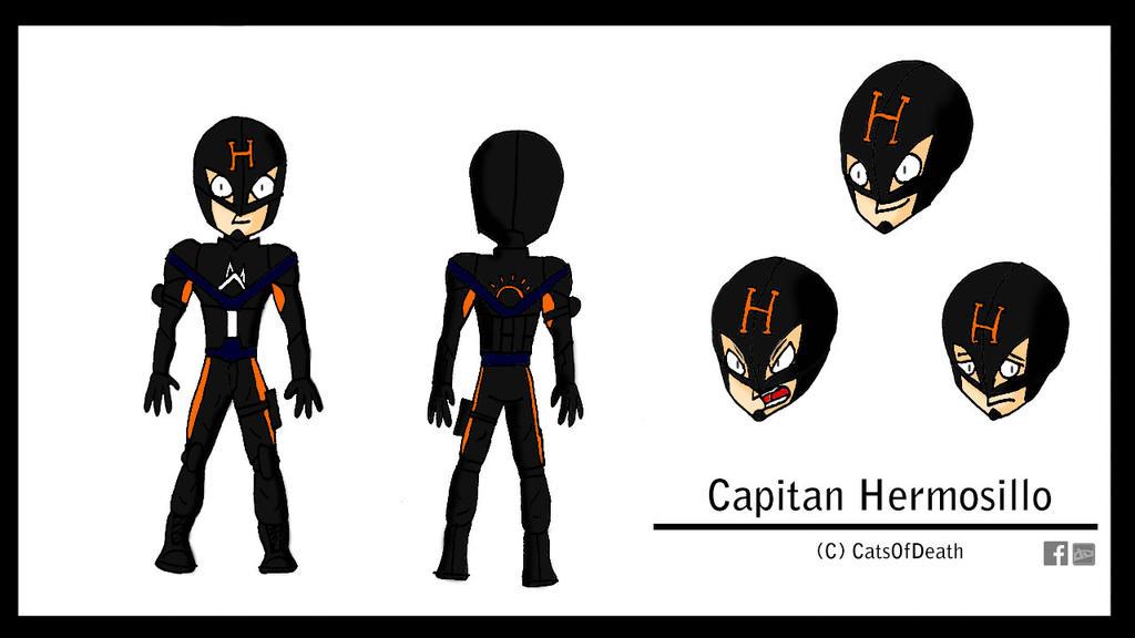 Capitan Hermosillo by Catsofdeath