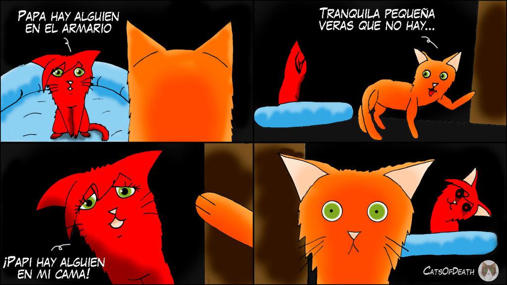 Creepy kitten by Catsofdeath