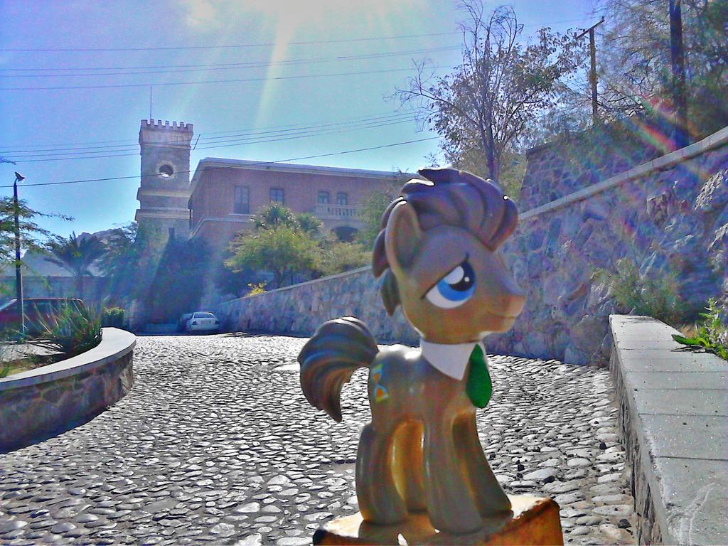 Doctor Whooves y el Museo de Sonora by Catsofdeath