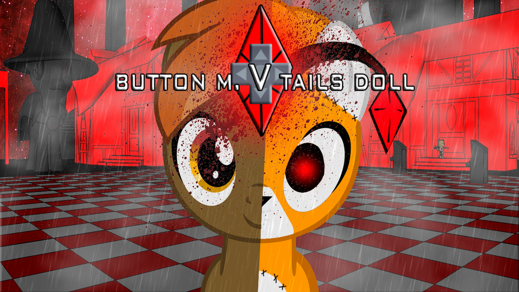 Button Mash Vs Tails Doll by Catsofdeath