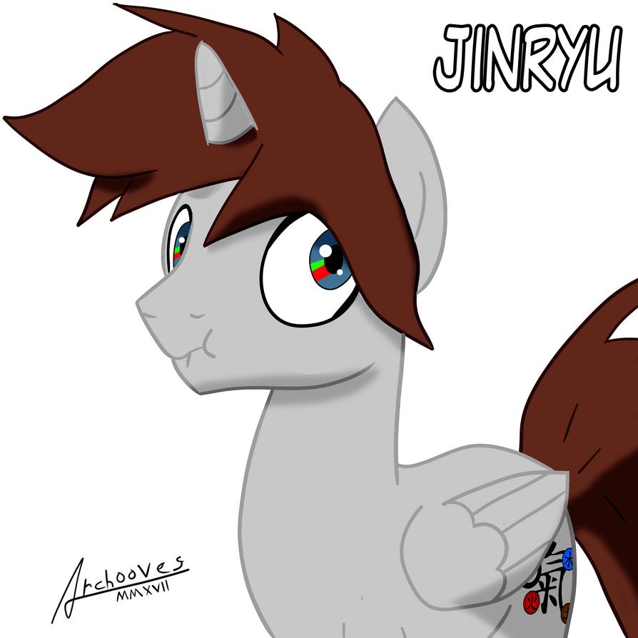 Jinryu pony by Catsofdeath
