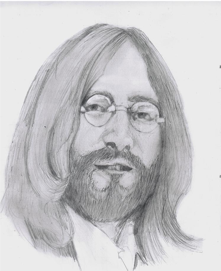 The Beatles  John Lennon by Richard-M-Williams