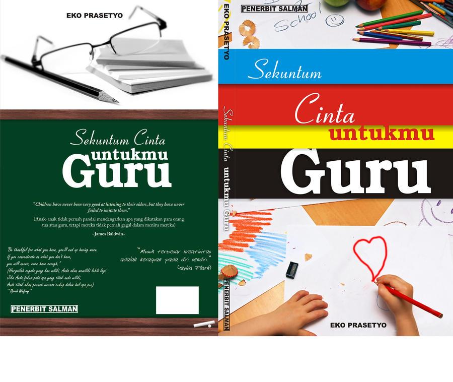 cover buku cinta untuk guru by viedart on DeviantArt