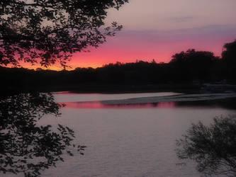 August sunrise by teddybearcholla
