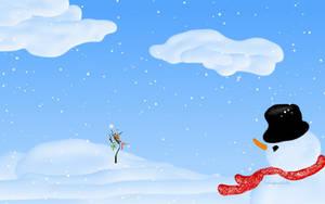 Snowy's Christmas by teddybearcholla