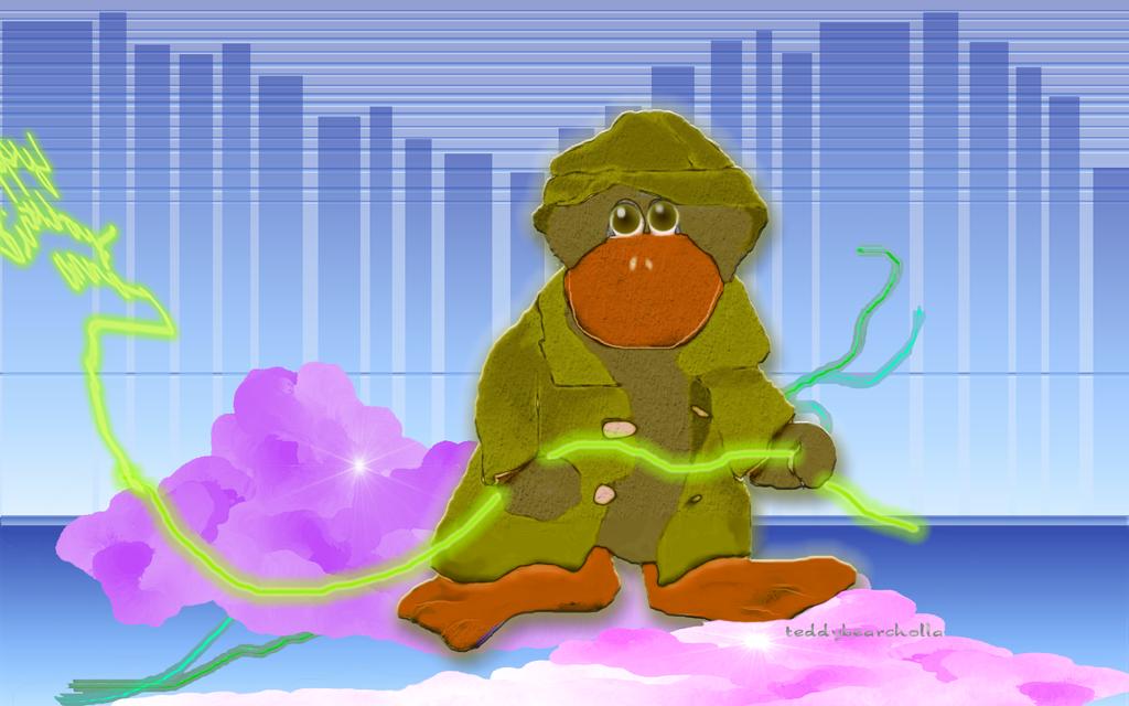 I'm a turtle by teddybearcholla