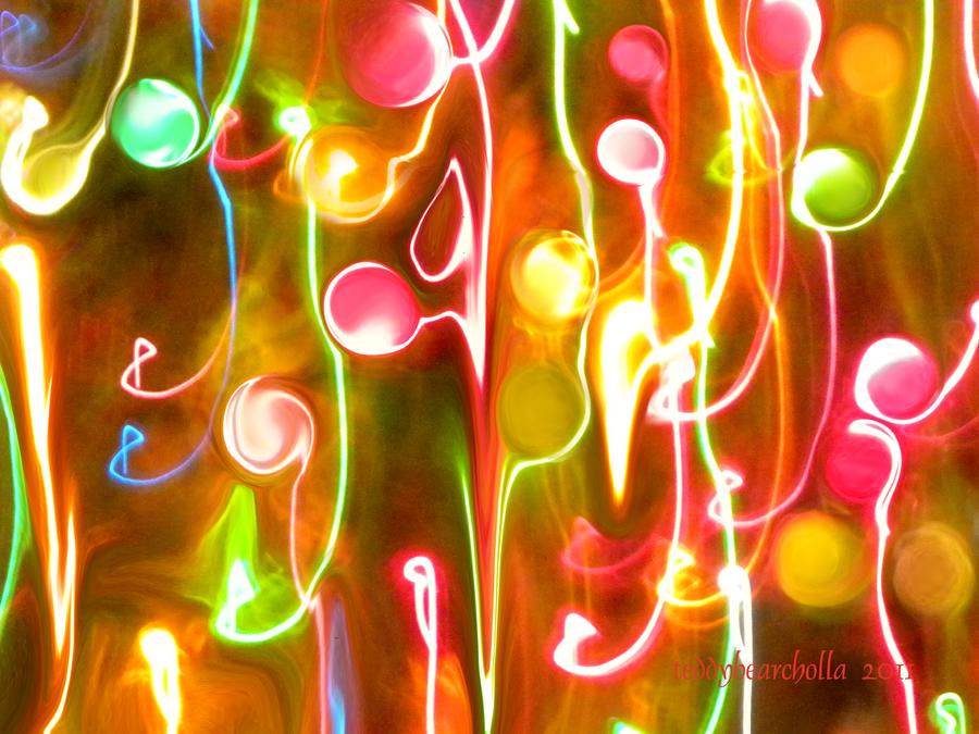 Christmas lights by teddybearcholla