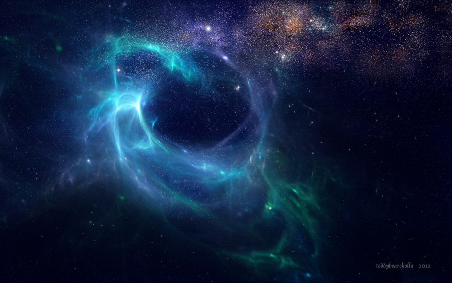 Eye of the storm nebulae by teddybearcholla