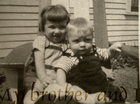 My brother and I by teddybearcholla