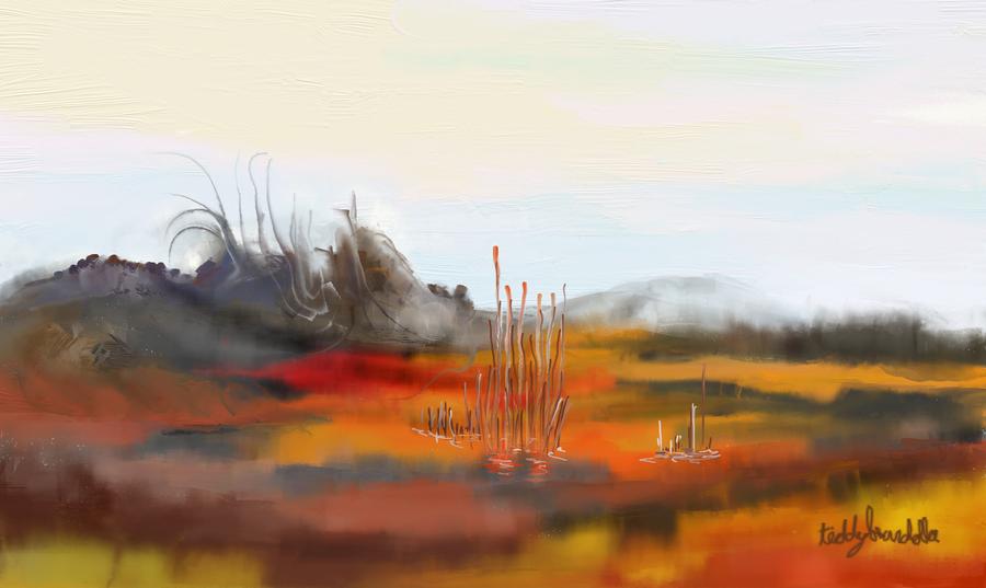 Firebird swamp by teddybearcholla