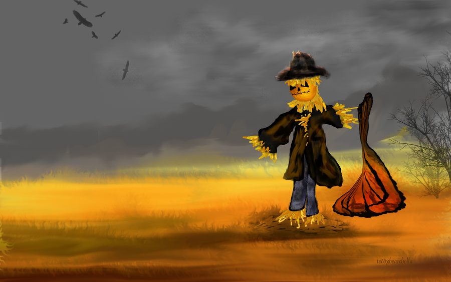 Scarecrow by teddybearcholla