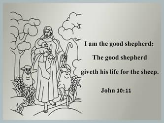 The Good Shepherd John 10:11