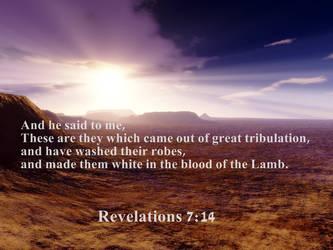 Revelations 7 :14