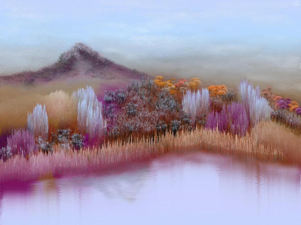 Amethyst mountain.. by teddybearcholla