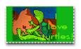 I love turtles by teddybearcholla
