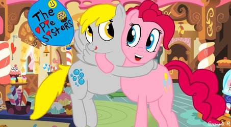 Pinkie And Derpy Pie