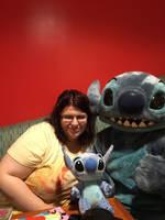 Me, Stitch and Baby Stitch