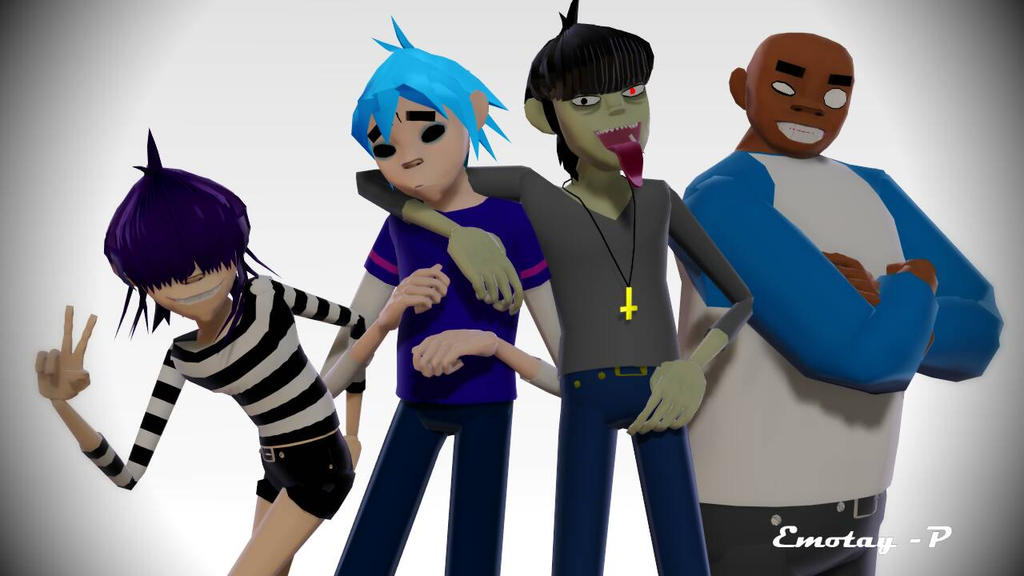 Gorillaz (Group Picture?) by Emotay-P