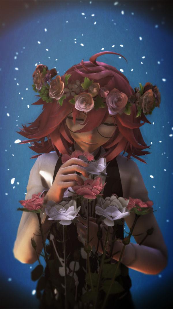 Castiven Loves Flowers