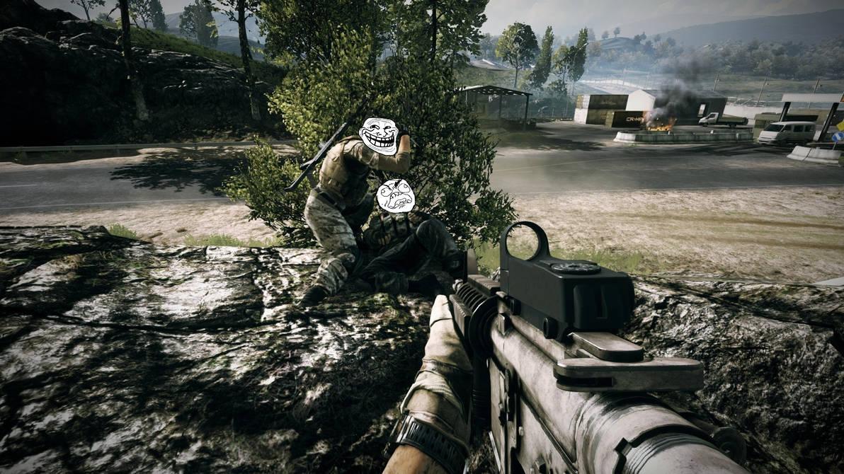 Battlefield 3 Trolling Wallpaper 1920x1080 V2 By Ibloxman On Deviantart