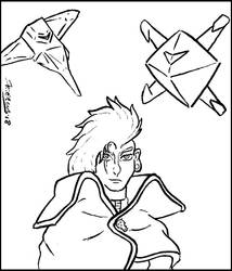 Space Pirate Captain Barriga [LINEART]
