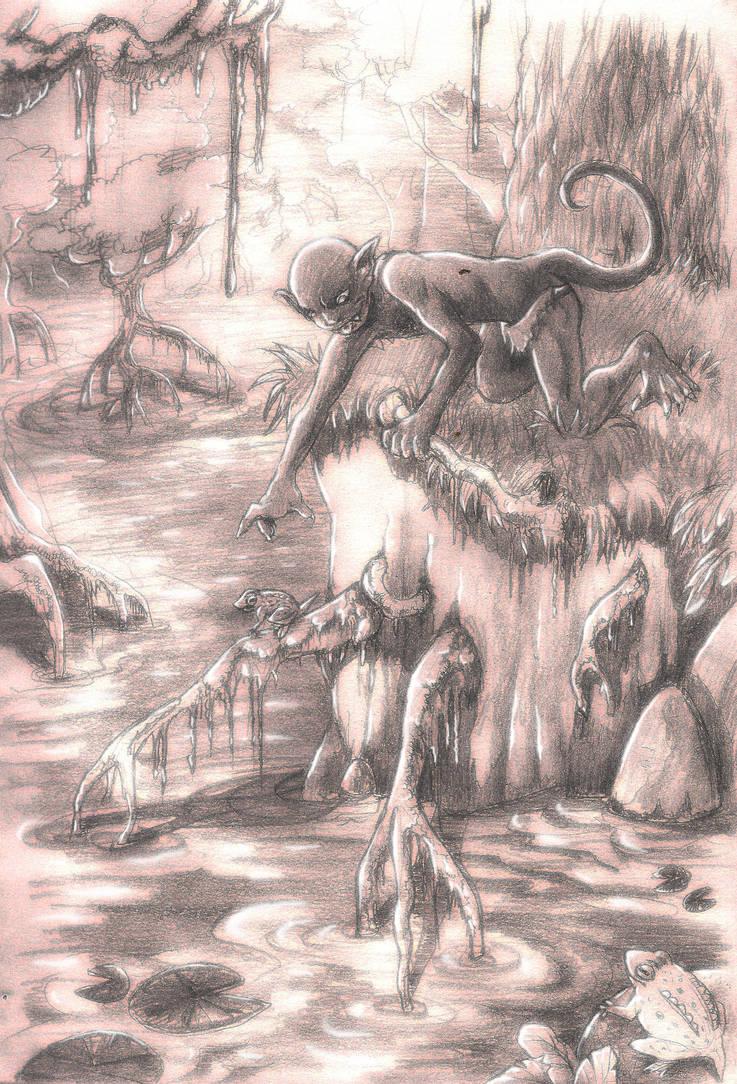 Darkling (pencil edition)