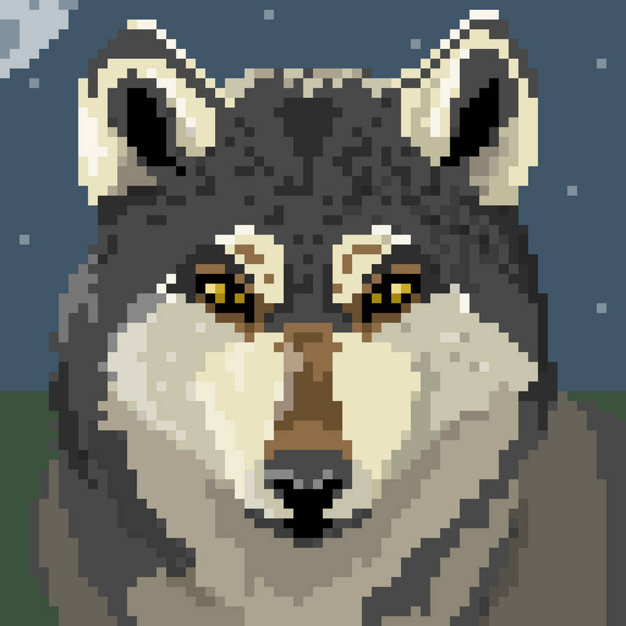 Wolf Glare (64x64 Pixel) by red-embers on DeviantArt