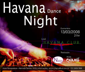 Flyer Havana Dance Night - 2 by wilsonroberto