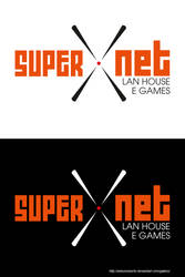 Logo - Supernet Lanhouse by wilsonroberto