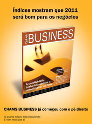 Anuncio Revista Chams Business by wilsonroberto