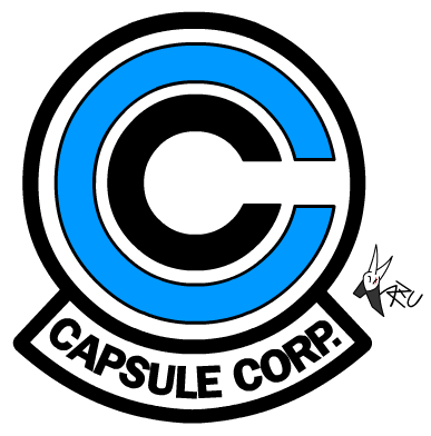 capsule corp logo (dragon ball)kaji-zu on deviantart