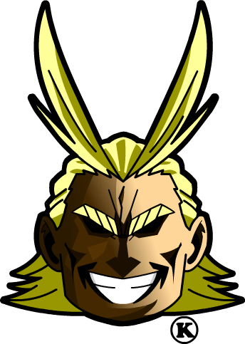 Alllmight Head logo /boku no hero academia by Kaji-zu on ...